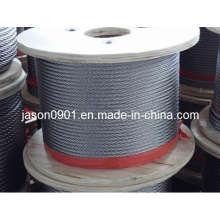 Corda de aço inoxidável, corda de aço, corda de aço, corda de aço inoxidável