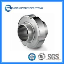 304 / 316L Unión sanitaria de montaje de tubo de acero inoxidable
