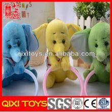 Conception populaire de haute qualité en peluche éléphant porte-serviettes