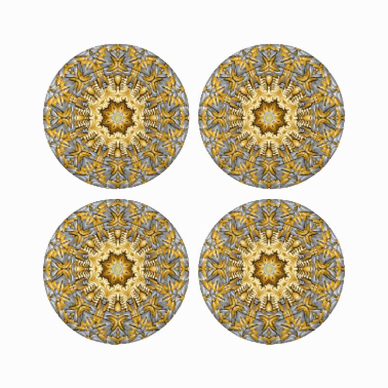 Gold Metal Blazer Button Set For Suits