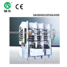 High frequency used plywood hot press machine for wood door