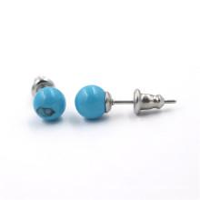 Echtes Perlen-Ohrring-Frauen-Perlen-Ohrring-Art- und Weiseschmucksache-Perle