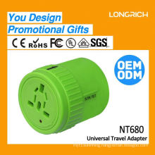 New Idea creative premium gifts,pink travel charger small gift promotion giveaway