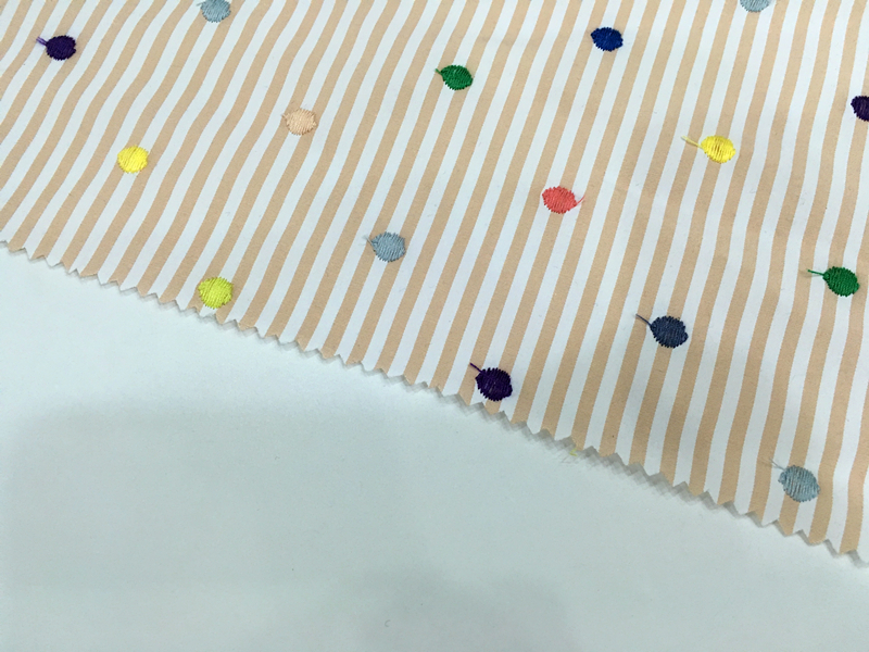 Small Dot Embroidery Fabric