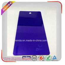 Customized Candy Dark Purple Powder Paint Transparent Powder Coating