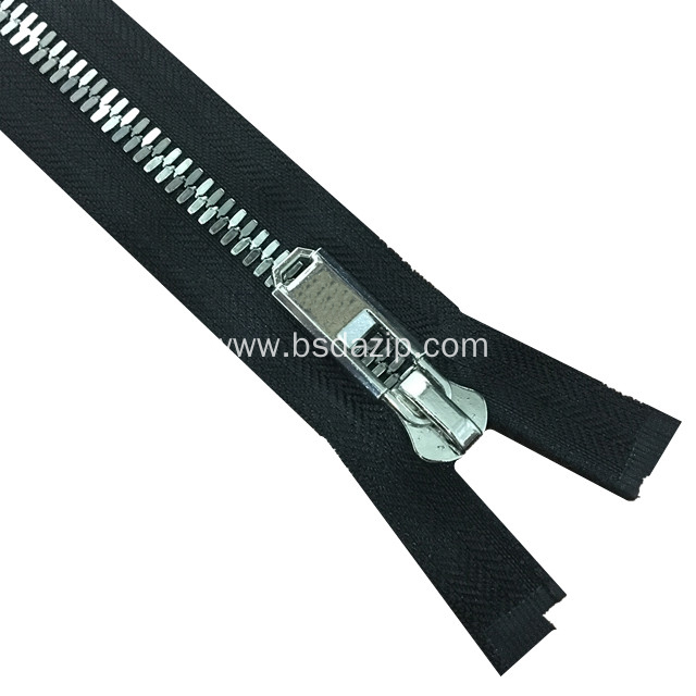 No. 13 Corn Teeth Zip Chain Leather Zipper