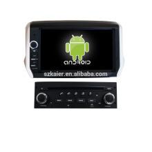 """8 """"lecteur dvd de voiture, usine directement! Quad core, GPS, radio, bluetooth pour peugeot 208/2008"""