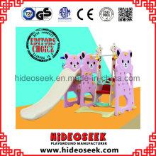 Brinquedos plásticos internos da corrediça das crianças para o supermercado