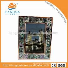 Nouvelle-Zélande paua shell Cadre photo décoratif pour décoration intérieure
