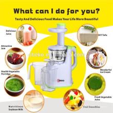 2015 Obst und Gemüse Multifunktionale langsame Mastixierung Single Auger Juicer Extractor Low Speed Juicer Slow Juicer