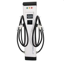 2*22kw dual guns EV charging station