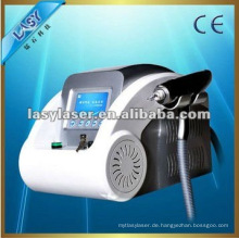 Home 1064nm 532nm q geschaltet nd yag medizinischen Laser für Tattoo Removal mit CE