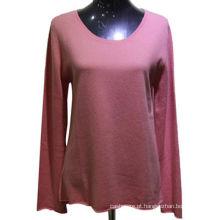 fabricante de china camisola de caxemira feminina personalizada, camisola de pulôver feminina 2017