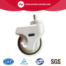ABS TPR PU Medical Caster with brake