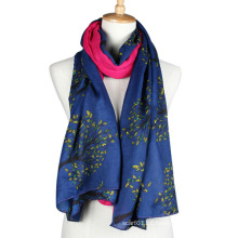 Lady Fashion Viscose Printed Scarf (YKY1023-3)