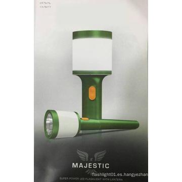 18650 Batería Super brillante linterna portátil recargable LED