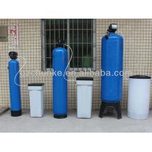 Sistema do filtro do emoliente de água para a planta de tratamento da água com tanque de FRP