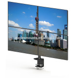 Clamp quad (4) monitor stand,vesa 75/100mm