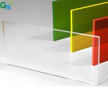 Guansu 100% Virgin Material Plastic Sheet Office Desk Isolation Board 3Mm Clear Transparent Polycarbonate Solid Sheet