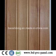 Holzfarbe Laminiertes PVC Wandpaneel 2016