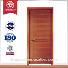 Vente chaude pvc chambre porte porte principale modèle conception porte placage