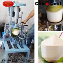 Peladora de piel de coco barato con precio de fábrica