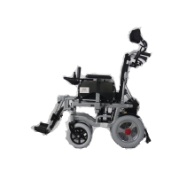 Lightweight foldable electric motor wheel chair