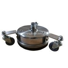 "8"" 12""  Stainless Steel Surface Cleaner with Wheels"