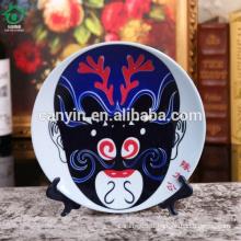 2015 nouvelles plaques en céramique décoratives décoratives personnalisées innovantes