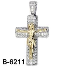 Joyería de moda de alta calidad Jesús colgante de plata 925