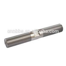 Liga de aço OEM feito haste roscada ajustável, alta resistência à tração