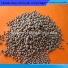 Material de filtro Ceramisite leve de porosidade alta