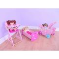 Игра высокого качества прекрасная детская коляска девушка мини-деревянная кукла Pram