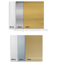 Aluminiumblech-Grundmaterial für die Sublimations-Blechplatte für den Fotodruck