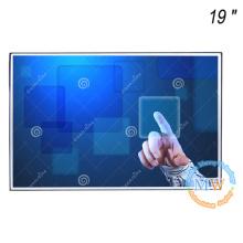 Sin marco, monitor de marco abierto de 19 pulgadas con pantalla táctil