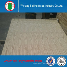 Natural Red Oak Veneer Laminated MDF with Good Quality