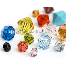 2015 granos del shamballa de la alta calidad, granos de cristal