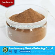 Ligninsulfonate de sodium Additif chimique de contrôle de la poussière
