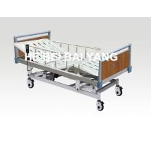 A-17 lit d'hôpital électrique à fonction d'arbre