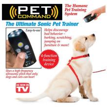 Comando do animal de estimação - dispositivo & lanterna elétrica de treinamento do animal de estimação