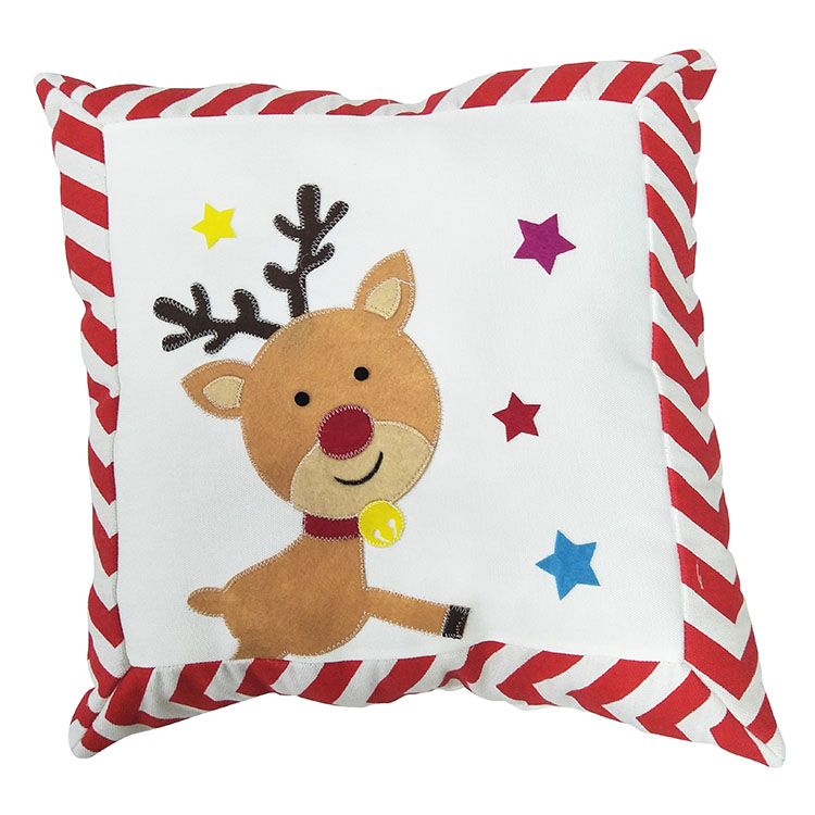 Christmas Soft And Warmth Reindeer Pillow