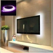 крытый 50см 1М 2м гибкий телевизор фоне освещение газа 5В 5050 3528 СМД IP65 Водонепроницаемый RGB теплый холодный белый USB светодиодные полосы света