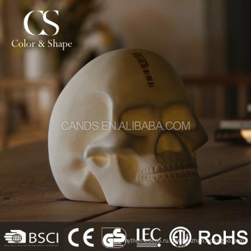 Новый продукт пользовательские формы черепа настольный ночник
