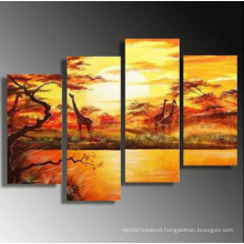 Handmade Stretched Landscape Oil Painting