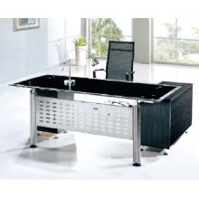 Moderno acero CEO muebles de oficina de lujo escritorio de oficina