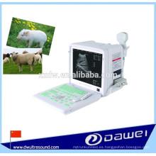 equipo portátil de ultrasonido veterinario para animales