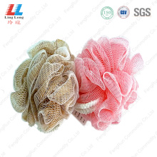 body+and+shower+bath+puff+mesh+bath+sponge