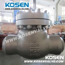Válvula de retención de oscilación de acero fundido Bw (H64)