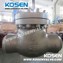 Válvula de retenção do balanço de extremidade do aço de molde Bw (H64)