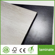 Black Hdf Core Laminated Floor Waterproof